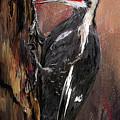 Pileated Woodpecker Art by Lourry Legarde