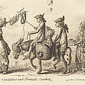 Pilgrimage To French Bucholz by Daniel Nikolaus Chodowiecki