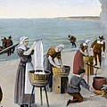 Pilgrims Washing Day, 1620 by Granger