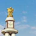 pillar for the 50th anniversary of India, Chennai, Tamil Nadu by Henning Marquardt