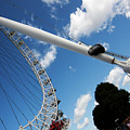 Pillar Of London S Ferris Wheel  by Agusti Pardo Rossello