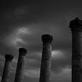 Pillars Of Black And White by Gary Henderson