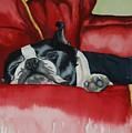 Pillow Pup by Susan Herber