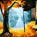 Pine Wood by Leonid Afremov