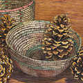Pinecones by Catherine G McElroy