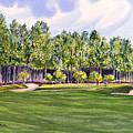 Pinehurst Golf Course 17th Hole by Bill Holkham