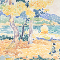 Pines On The Coastline by Henri-Edmond Cross