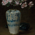 Pink Azalea - Chinese Vase by William Merritt Chase