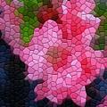 Pink Azaleas by Kathryn Meyer