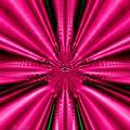 Pink Brocade Fabric Fractal 55 by Rose Santuci-Sofranko