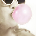 Pink Bubble Gum by Sotiris Filippou
