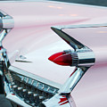 Pink Cadillac Eldorado Tail Fin by Jill Reger