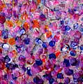 Pink California Splatter Map by Sean Corcoran