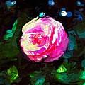Pink Camille,nishishinjuku by Mark J Dunn