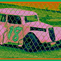 Pink Car by Anita Goel