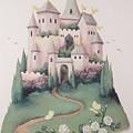 Pink Castle by Suzn Art Memorial