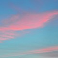 Pink Clouds After Sunset by Lyle Crump