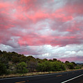 Pink Clouds Over Arizona by Carol Groenen