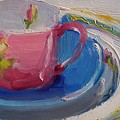 Pink Cup by Susan Jenkins
