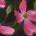 Pink Dogwoods by Kathryn Meyer