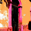 Pink Door 1 By Darian Day by Mexicolors Art Photography