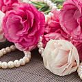 Pink Eustoma Flowers  by Anastasy Yarmolovich