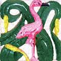 Pink Flamingo by Debbi Granruth