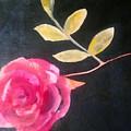 Pink Flower by Eve Bodirwa