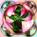 Pink Flower Glow by Pamela Walton