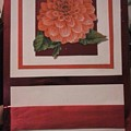 Pink Flower Greeting Card by Cynthia Perkins