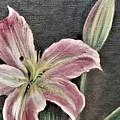 Pink Flower by Suzn Art Memorial
