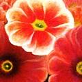 Pink Flowers by Flavia Lundgren