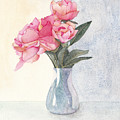 Pink Flowers by Ken Powers
