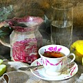 Pink For Tea by Diana Angstadt
