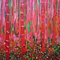 Pink Forest by Ericka Herazo