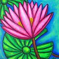Pink Gem 1 by Lisa  Lorenz