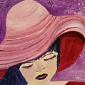Pink Hat by Vincenzina Baumann