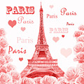 Pink Hearts For Valentines by Irina Sztukowski
