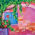 Pink Home by Susan Bertocci