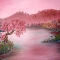 Pink Lake by Emily Michaud