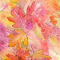 Pink Leaves by Nancy Cupp