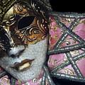 Pink Mask by Oscar Gutierrez