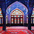 Pink Mosque, Iran by Alexandre Rotenberg