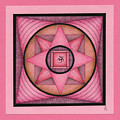Pink Om Thing by Elaine Tschuor