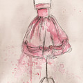 Pink Party Dress by Lauren Maurer