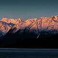 Pink Peaks II by Matt Swinden