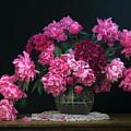 Pink Peonies by Dagmar Luhringova
