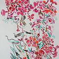 Pink Phloxes by Vitali Komarov