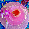 Pink Place Setting by Robert Meyers-Lussier