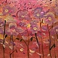 Pink Poppies by Linda Lavid
